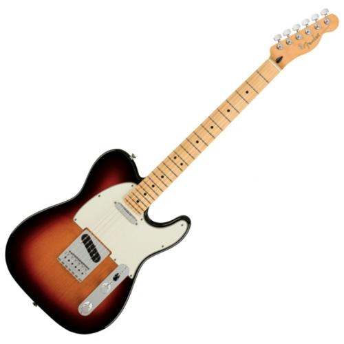 Fender - Player Telecaster MN 3 Color Sunburst 6 húros elektromos gitár ajándék félkemény tok
