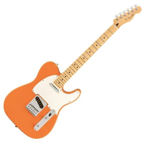 Fender - Player Telecaster MN Capri Orange 6 húros elektromos gitár ajándék félkemény tok