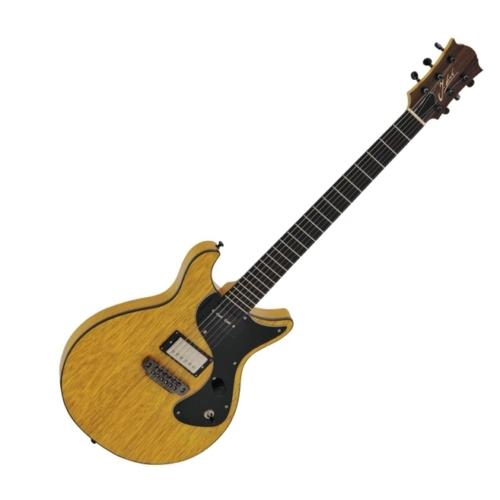 Jozsi Lak - Rocker Custom elektromos gitár sárga, szemből