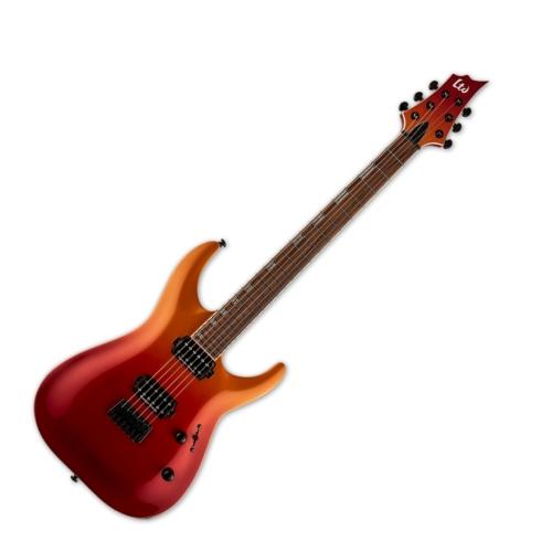 LTD - H400 CRMSFD 6 húros elektromos gitár ajándék félkemény tok