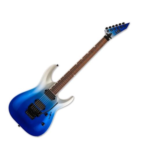 LTD - MH-400 BLUPFD 6 húros elektromos gitár ajándék félkemény tok