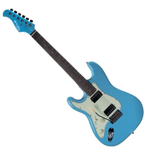 Prodipe - ST2H LH RA Sonic Blue 6 húros balkezes elektromos gitár ajándék puhatok