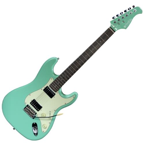 Prodipe - ST2H RA Surf Green 6 húros elektromos gitár ajándék puhatok