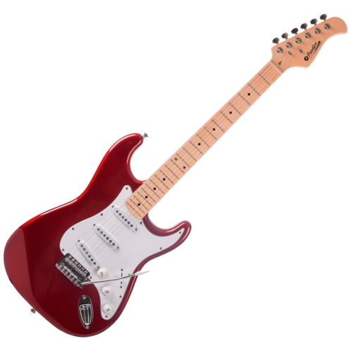 Prodipe - ST80 MA Candy Red elektromos gitár, szemből