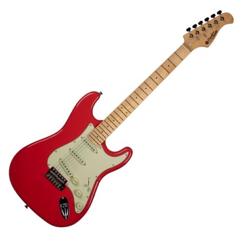 Prodipe - ST80 MA Fiesta Red elektromos gitár ajándék puhatok