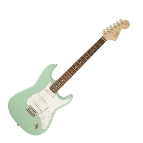 Squier - Affinity Stratocaster Surf Green 6 húros elektromos gitár