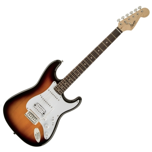 Squier - Bullet Stratocaster HSS Brown Sunburst 6 húros elektromos gitár