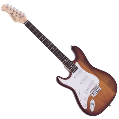 Dimavery - ST-203 Balkezes elektromos gitár sunburst