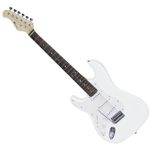 Dimavery - ST-203 Balkezes elektromos gitár fehér