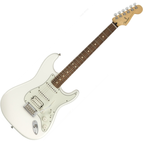 Fender - PLAYER STRATOCASTER HSS PF Polar White
