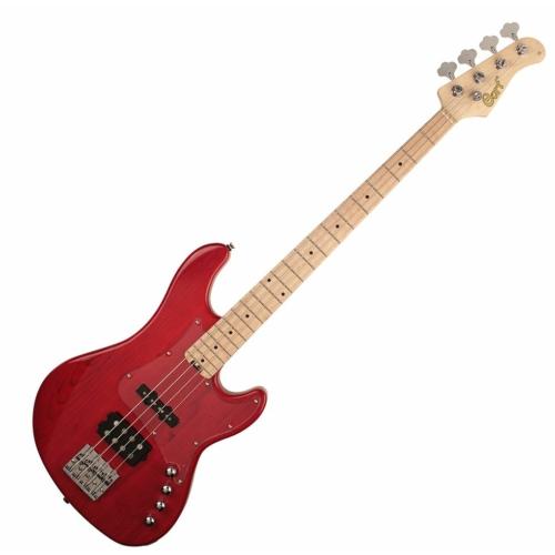 Cort - GB74JH-TR elektromos basszusgitár piros