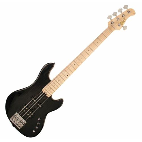 Cort - GB75JH-TBK 5 húros elektromos basszusgitár fekete