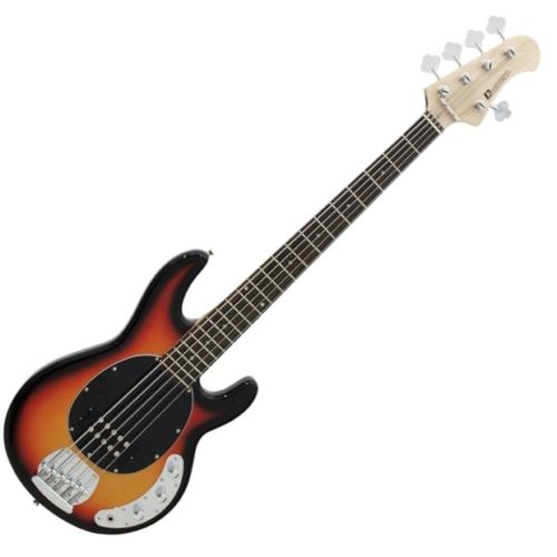 Dimavery - MM-505 E-Bass elektromos basszusgitár sunburst, szemből