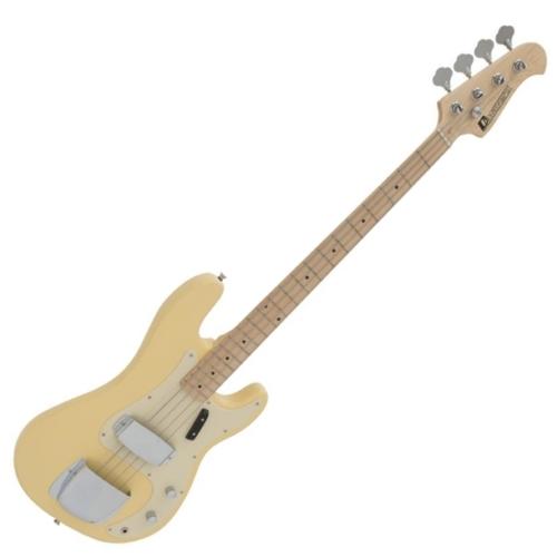 Dimavery - PB-550 E-BASS elektromos basszusgitár szőke színben