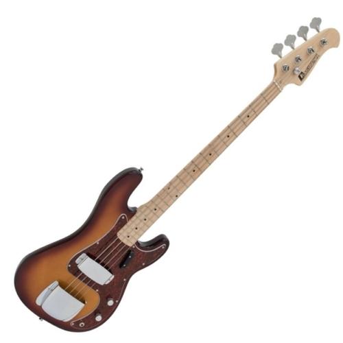 Dimavery - PB-550 E-BASS elektromos basszusgitár tobacco burst színben