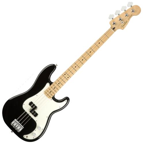 Fender - Player Precison Bass MN BK 4 húros elektromos basszusgitár ajándék félkemény tok