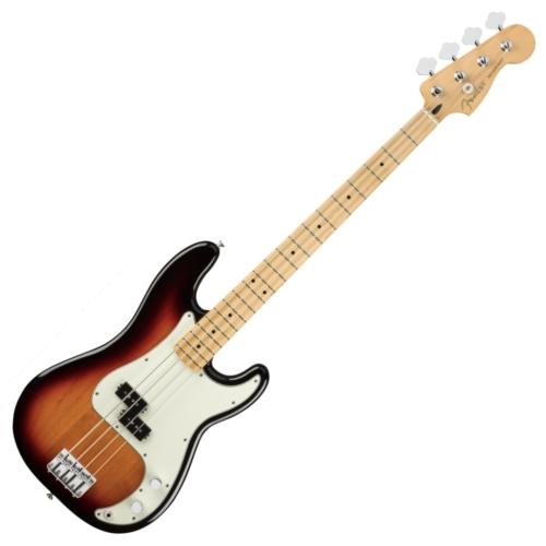 Fender - Player Precison Bass MN 3CS 4 húros elektromos basszusgitár ajándék félkemény tok
