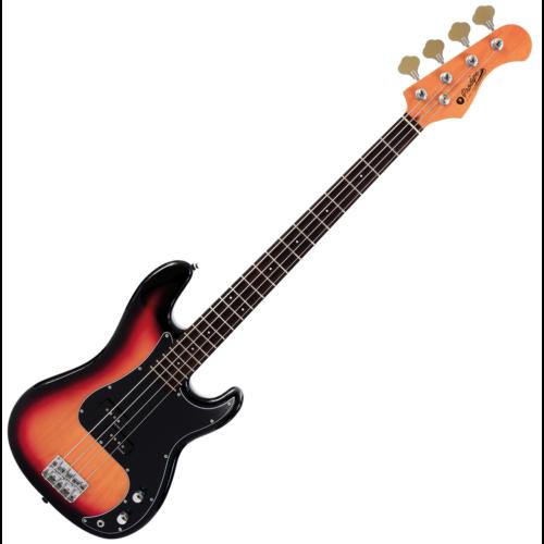 Prodipe - PB80 RA Sunburst elektromos basszusgitár, szemből