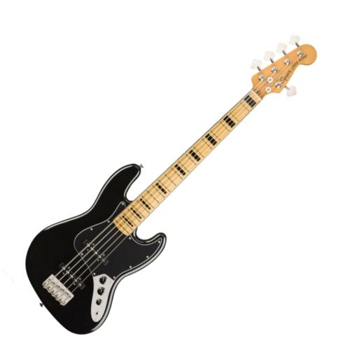 Squier - Classic Vibe 70S Jazz Bass V Black 5 húros elektromos basszusgitár