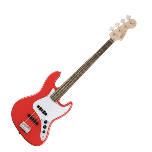 Squier - Affinity Jazz Bass Race Red 4 húros elektromos basszusgitár