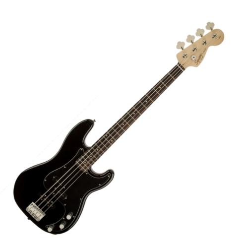 Squier - Affinity Precision Bass PJ Black 4 húros elektromos basszusgitár