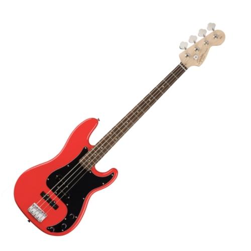 Squier - Affinity Precision Bass PJ Race Red 4 húros elektromos basszusgitár