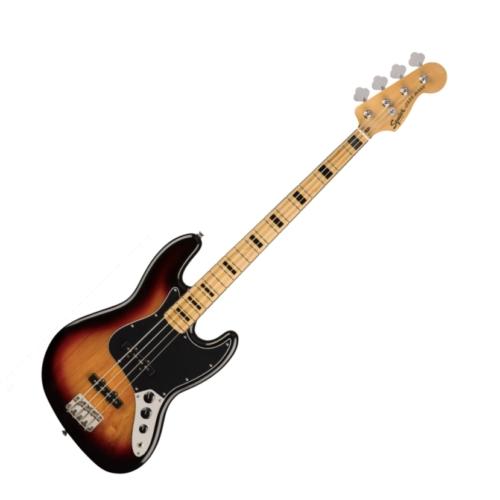 Squier - Classic Vibe 70s Jazz Bass 3 Color Sunburst 4 húros elektromos basszusgitár