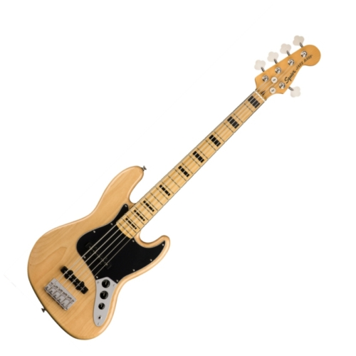 Squier - Classic Vibe 70S Jazz Bass V Natural 5 húros elektromos basszusgitár