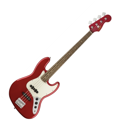 Squier - Contemporary Jazz Bass Dark Metallic Red 4 húros elektromos basszusgitár