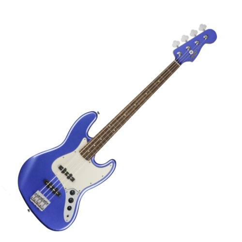 Squier - Contemporary Jazz Bass Ocean Blue Metallic 4 húros elektromos basszusgitár