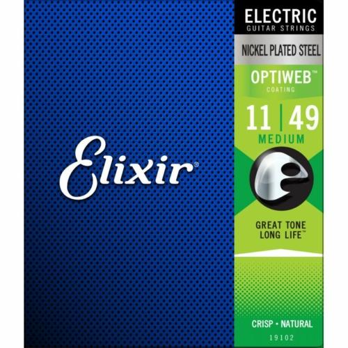 Elixir - OPTIWEB Coating Medium 11-49 elektromos gitárhúr