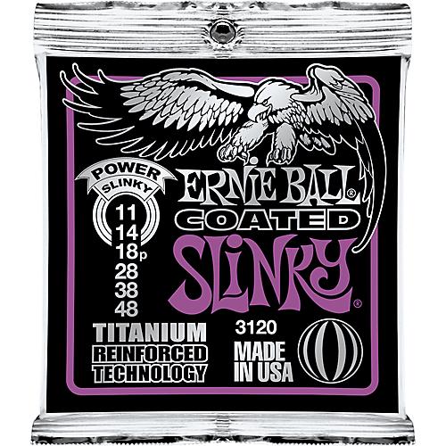 Ernie Ball - Coated Titanium RPS Power Slinky 11-48 Elektromos Gitárhúr készlet