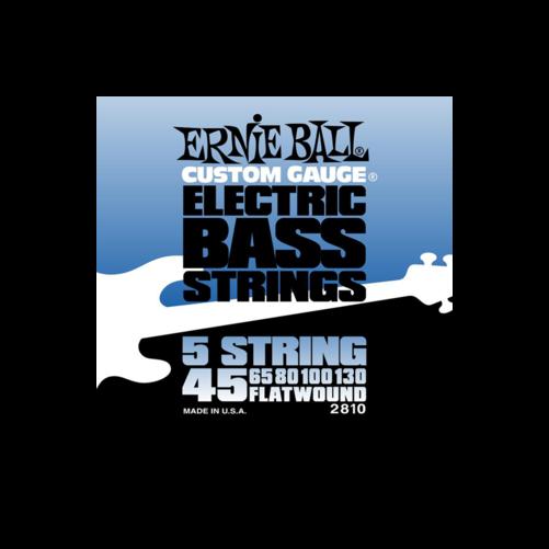 Ernie Ball - Flatwound Bass 5 String 45-130 Basszusgitárhúr készlet 5-húros