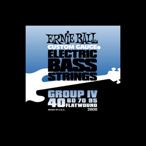 Ernie Ball - Flatwound Bass Group IV 40-95 Basszusgitárhúr készlet