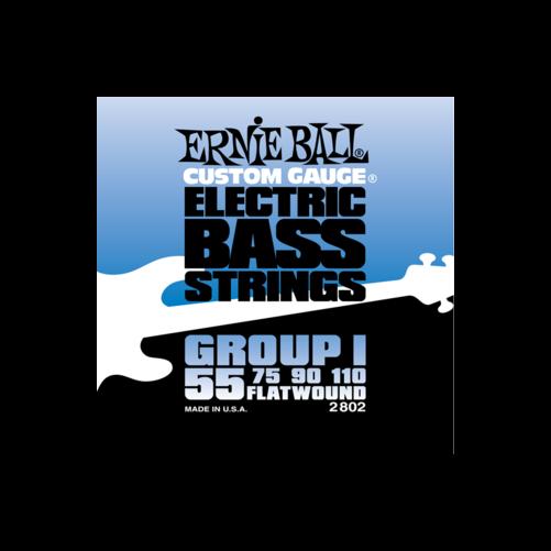 Ernie Ball - Flatwound Bass Group I 55-110 Basszusgitárhúr készlet