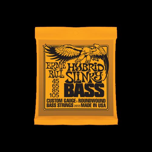 Ernie Ball - Nickel Wound Hybrid Slinky Bass 45-105 Basszusgitárhúr készlet