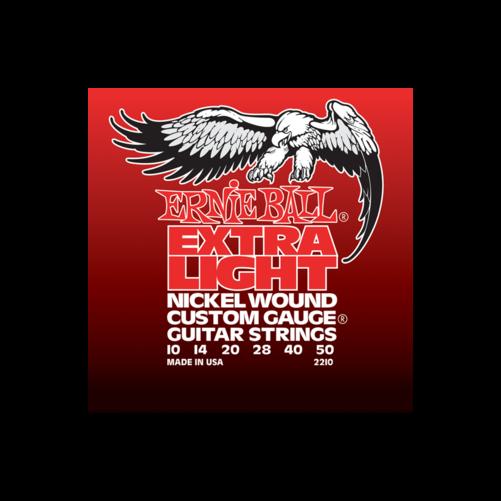 Ernie Ball - Nickel Wound Extra Light Wound G 10-50 Elektromos Gitárhúr készlet