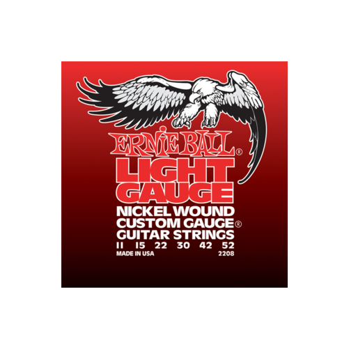 Ernie Ball - Nickel Wound Light Wound G 11-52 Elektromos Gitárhúr készlet