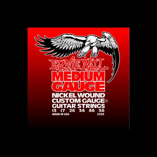 Ernie Ball - Nickel Wound Medium Wound G 13-56 Elektromos Gitárhúr készlet