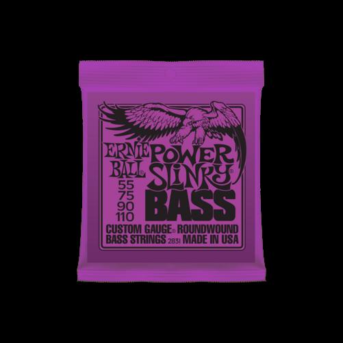 Ernie Ball - Nickel Wound Power Slinky Bass 55-110 Elektromos Basszusgitárhúr készlet