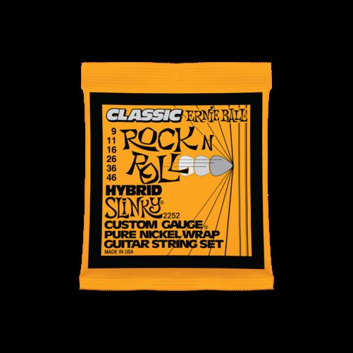 Ernie Ball - Pure Nickel Hybrid Slinky 9-46 Elektromos Gitárhúr készlet