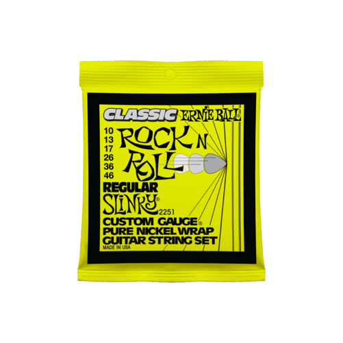 Ernie Ball - Pure Nickel Regular Slinky 10-46 Elektromos Gitárhúr készlet