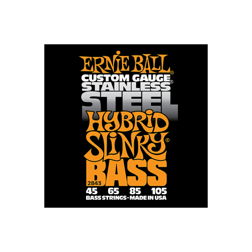 Ernie Ball - Stainless Steel Hybrid Slinky Bass 45-105 Basszusgitárhúr készlet