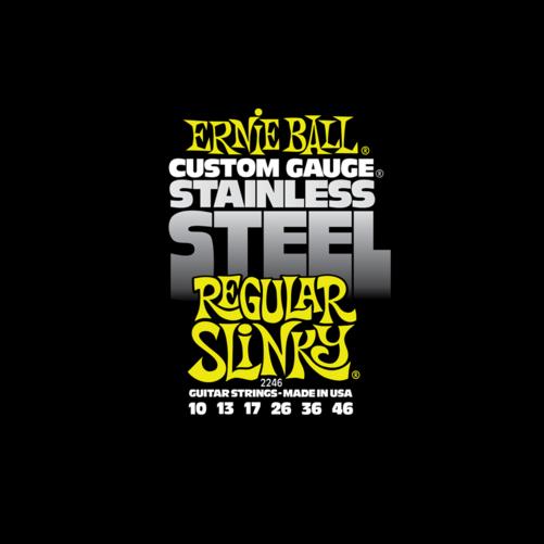 Ernie Ball - Stainless Steel Regular Slinky 10-46 Elektromos Gitárhúr készlet