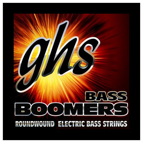GHS - BOOMERS Extra Long Scale Boomers MEDIUM LIGHT 45-100 Basszushúr Készlet