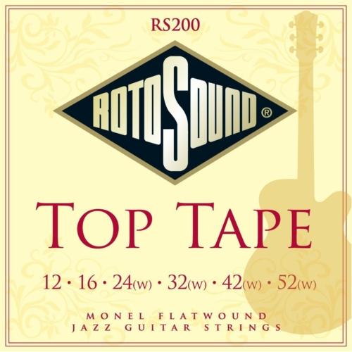 Rotosound - RS200 Top Tape elektromos gitárhúr készlet 10-52