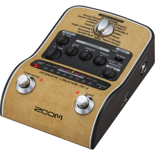 Zoom - AC-2 Akusztikus gitár multieffekt pedál