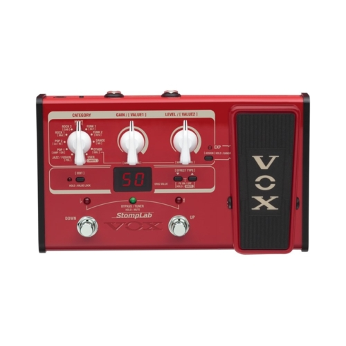 Vox - StompLab 2B basszusgitár multieffekt expression pedállal tartozék tápegységgel