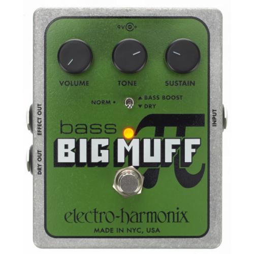 Electro Harmonix -  Bass Big Muff PI Overdrive effektpedál