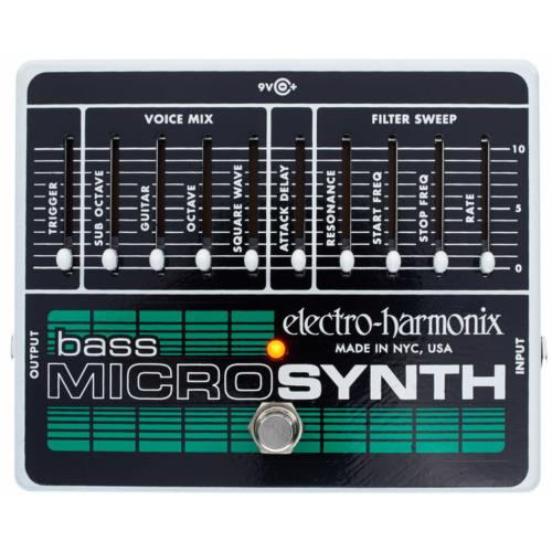 Electro Harmonix - Bass Micro Synthesizer Analóg effektpedál basszusgitárhoz